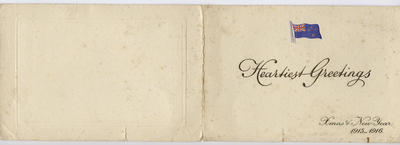 C.K. Mills Collection: Greeting Card