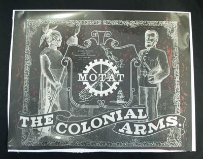 Sign [MOTAT, The Colonial Arms]