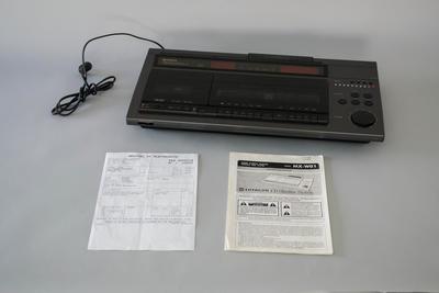 CD and Audio Cassette Player  [Hitachi CD Slimline System]