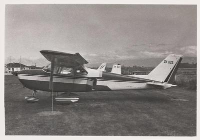 [ZK-BZS Cessna 172B photograph]
