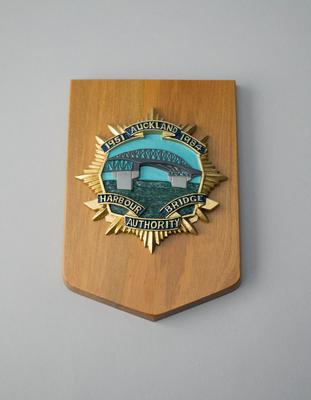 Plaque [Auckland Harbour Bridge Authority]