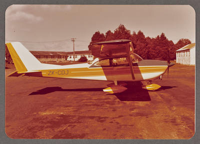 Cessna 172D ZK-CDJ 17.6.72 Ardmore