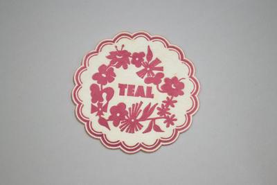 Coaster [Teal]