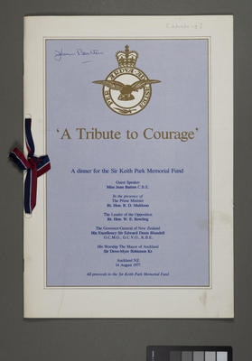 'A tribute to courage'