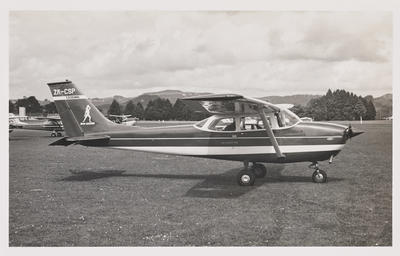 [ZK-CSP Cessna 172K photograph]
