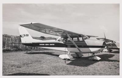 [ZK-CSY Cessna 172H photograph]