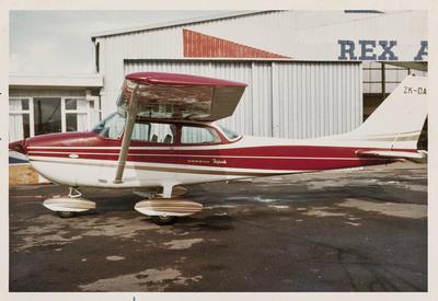 Cessna 172L ZK-DAT 9.6.71 Ardmore