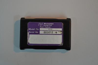 Ticket Machine Cartridge [Microsystem Design Ltd]