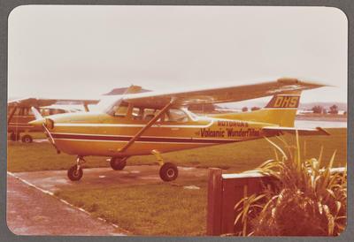 ZK-DHS Cessna 172M 8.6.81 Rotorua