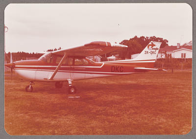 Cessna 172M ZK-DKC 21.3.77 Rukuhia