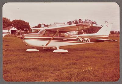 ZK-DKK Cessna 172 19.4.82 Rukuhia