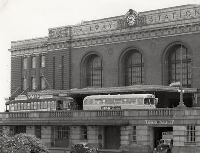 Last trams, 1956