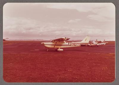 Cessna 172M ZK-DNT 21.8.76 Auckland Airport