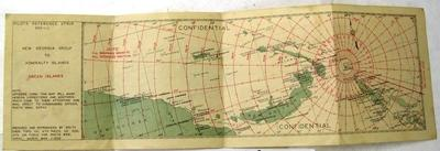 Pilots reference strip 955-J; New Georgia group to Admiralty Islands; ; Mar 1944