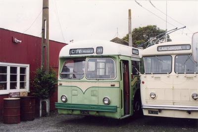 Old trolleybuses