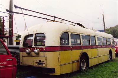 Retired Auckland Regional Authority trolleybus