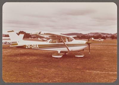 ZK-DRA Cessna 172 Skyhawk 24.3.78 Ardmore