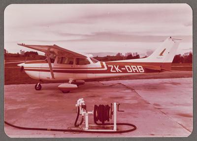 Cessna 172 Skyhawk ZK-DRB 6.10.77 Dairy Flat