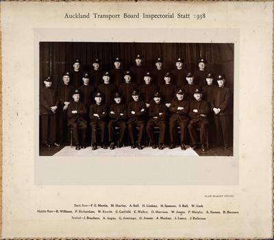 Auckland Transport Board Inspectorial Staff 1938