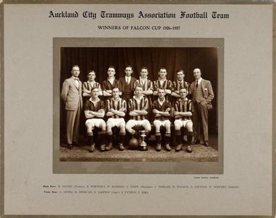 Auckland City Tramways Association Football Team