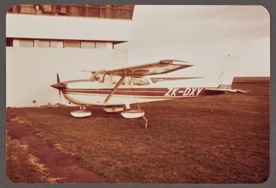 ZK-DXY Cessna 172 Skyhawk 27.5.82 New Plymouth