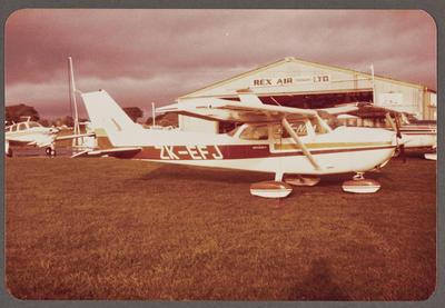 ZK-EFJ Cessna 172N Skyhawk 27.5.82 New Plymouth