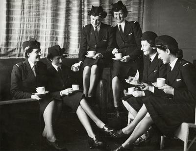 'We were novelties': TEAL Solent Flying Boat Stewardesses