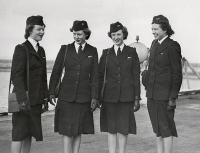 TEAL Stewardesses
