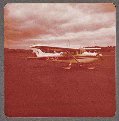 Cessna 172 Skyhawk ZK-EJT 6.8.81 Ardmore