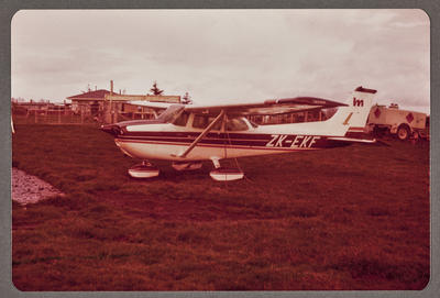 ZK-EKF Cessna 172 Skyhawk 20.8.81 Wahanoa