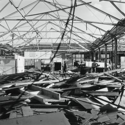 TEAL Workshops being demolished