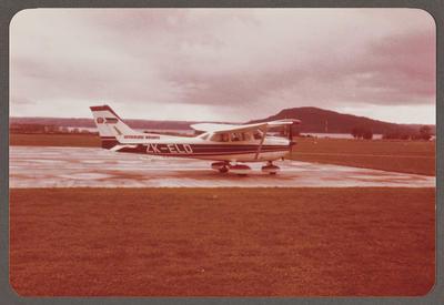 ZK-ELD Cessna 172 8.6.81 Rotorua