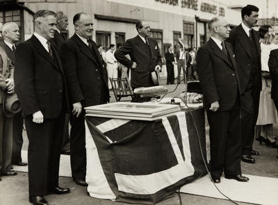 Solent Passenger Service Opening Ceremony