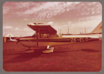 ZK-ELG Cessna 172 Skyhawk 8.2.79 Ardmore
