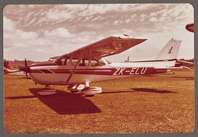 ZK-ELU Cessna 172 Skyhawk 8.2.79 Ardmore
