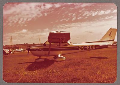 ZK-EOB Cessna 172 Skyhawk 8.2.79 Ardmore