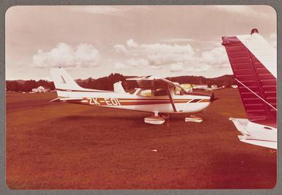 ZK-EOI Cessna 172 Skyhawk 21.4.79 Ardmore