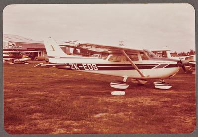 ZK-EOS Cessna 172 Skyhawk 19.4.81 Rukuhia