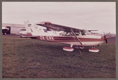 ZK-ERK Cessna 172 Skyhawk 4.11.80 Ardmore
