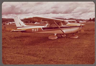 ZK-MAF Cessna 172 Skyhawk 29.12.79 Ardmore