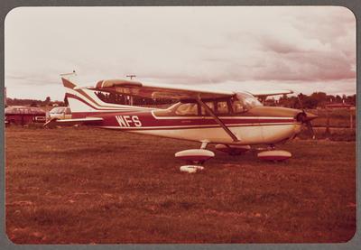 ZK-WFS Cessna 172 22.10.81 Rukuhia