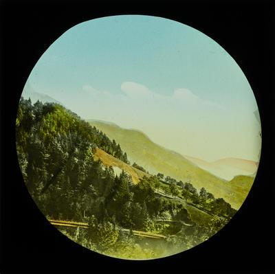 [Magic lantern slides: Soviet Union; Switzerland; Picturesque nature scenes]