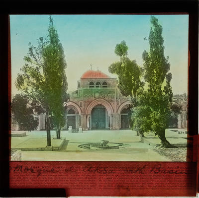 [Magic lantern slides: Egypt and the Holy Land]