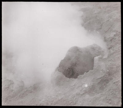 N.Z. Wall Crater White Is. Fumarole with S. mound