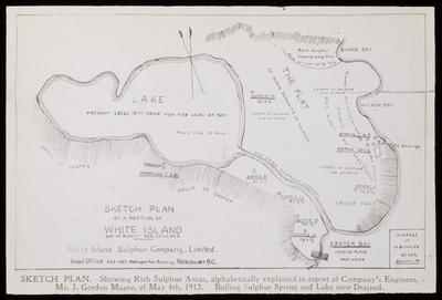 Plan, Part of Crater, White Is.