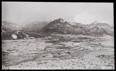 Crater White Is, after 1914 eruption