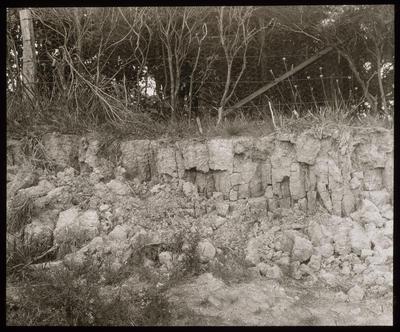 Columnar joints in Soil