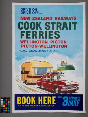 Drive on drive off..... New Zealand Railways Cook Strait Ferries
