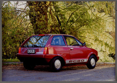 [Heron PC80 parked outside back view]
