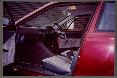 [Interior of finished Heron PC80]